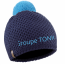 Bonnet uni + pompon