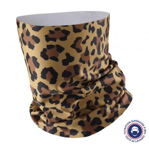 Neck warmer Leopard