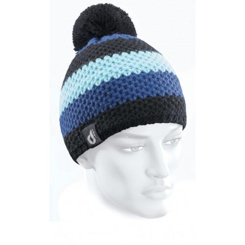 Rayé Bleu Royal-Bleu Azur-Noir